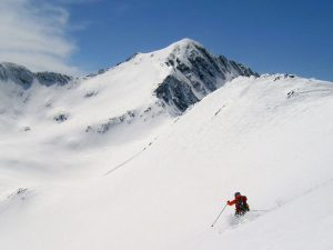 Baixada esqui Refugi Ulldeter